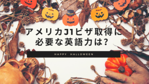 Read more about the article アメリカJ1ビザ取得に必要な英語力